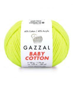 Gazzal Baby Cotton El Örgü İpi – 3462