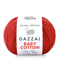 Gazzal Baby Cotton El Örgü İpi – 3418