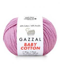 Gazzal Baby Cotton El Örgü İpi – 3422
