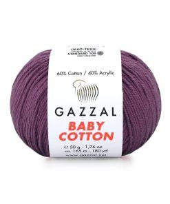 Gazzal Baby Cotton El Örgü İpi – 3441