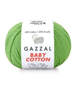 Gazzal Baby Cotton El Örgü İpi – 3448