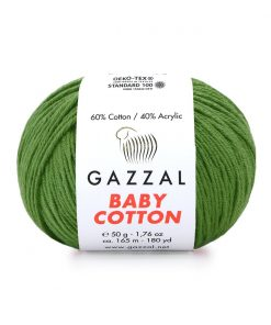 Gazzal Baby Cotton El Örgü İpi – 3449