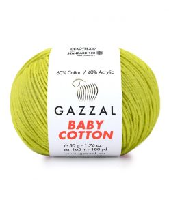 Gazzal Baby Cotton El Örgü İpi – 3457