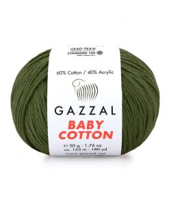 Gazzal Baby Cotton El Örgü İpi – 3463